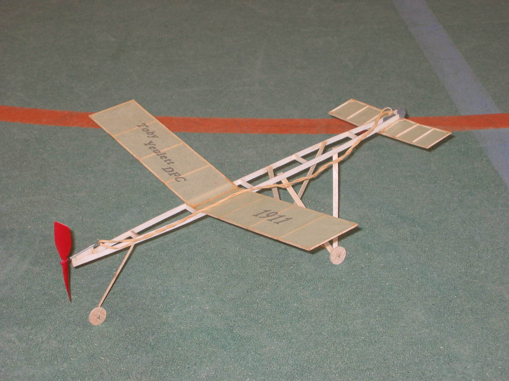 Replica of 1911 model aeroplane